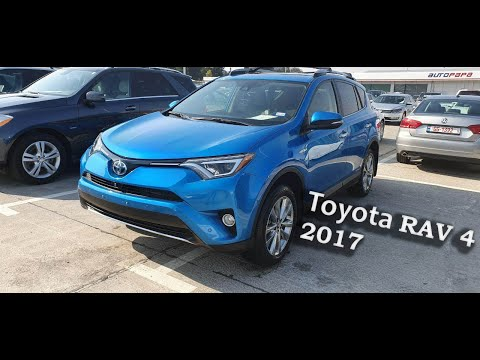 Обзор Toyota RAV4 2017 года