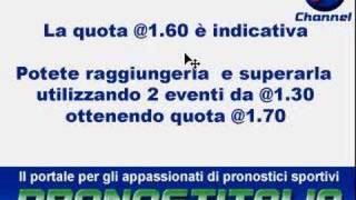 Metodo scommesse quota 10 in 5 mosse