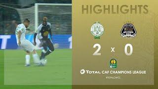 Raja Club Athletic 2-0 TP Mazembe   HIGHLIGHTS   Quarter-Final First Leg   TotalCAFC