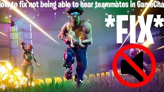 how to fix fortnite voice chat - how to use fortnite voice chat on switch