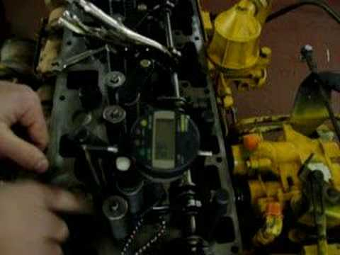 Cat 3116 Diesel Engine Synchronization Step 1  YouTube