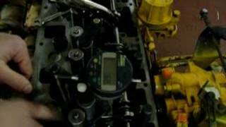 Cat 3116 Diesel Engine Synchronization Step 1