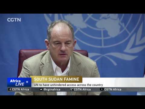 UN to have unhindered access across South Sudan