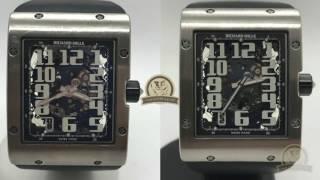 Швейцарские часы Richard Mille(Обзор разборки и сборки корпусных деталей часов Richard Mille. Этап разборки механизма не снят. Часовщик - ремонт..., 2017-02-27T12:01:35.000Z)