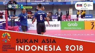 Download Video Sukan Asia 2018: Sorotan Sepak Takraw | Malaysia vs Korea Selatan | Match 1 | Astro Arena MP3 3GP MP4