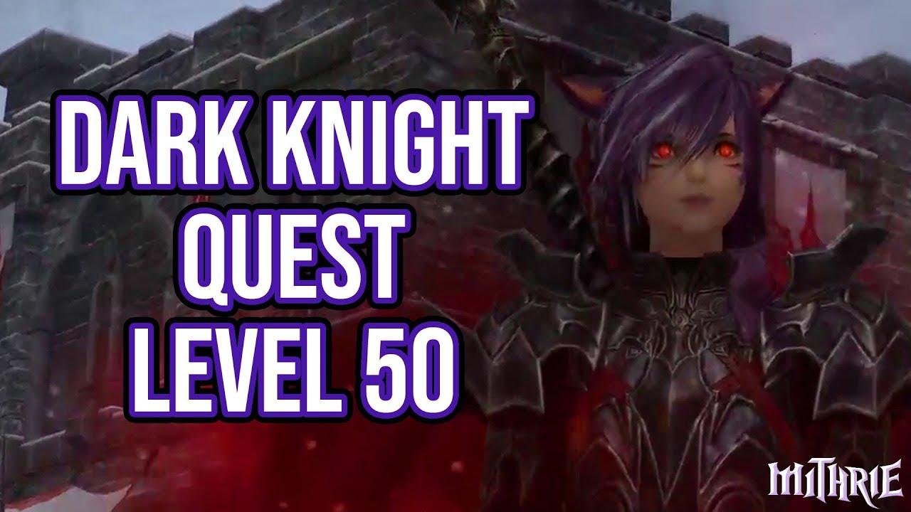 FFXIV 3 0 0798 Dark Knight Quest Level 50