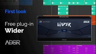 Wider - Expanding Your Stereo Image - First Look ( + free download )