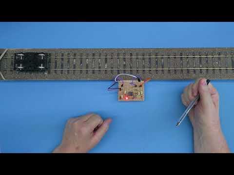 Engineering preview video – Feedback light sensor for model railways