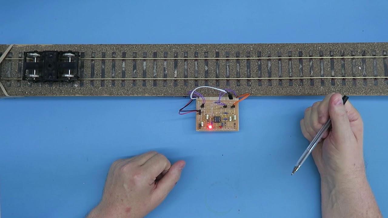 Engineering preview video – Feedback light sensor for model railways ...