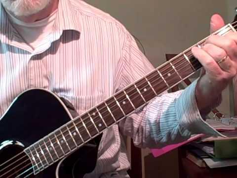 Sleigh Ride - guitar lesson & chords - YouTube