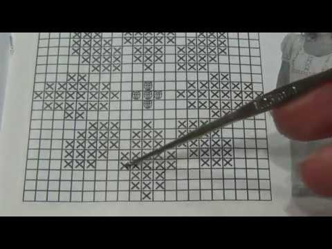 Учимся вязать филейные узоры крючком