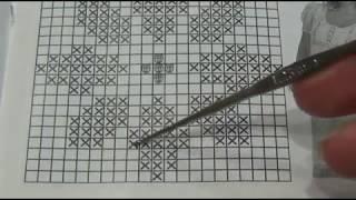 Филейное вязание 1часть