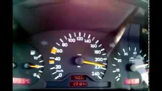 Mercedes c180 W202 Top Speed 220 Km/h