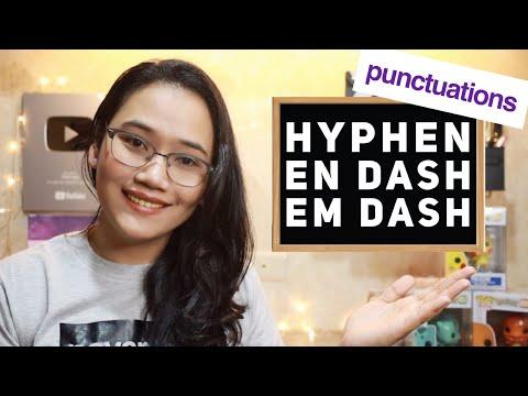 Hyphen, En Dash, Em Dash - #ProperPunctuation | CSE And UPCAT Review