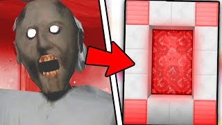 HOW TO MAKE A PORTAL TO THE GRANNY HORROR DIMENSION - MINECRAFT Granny