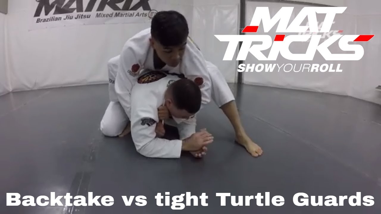 Taking the Back against Tight Turtle Guards by Chritopher Costa aka Kuya