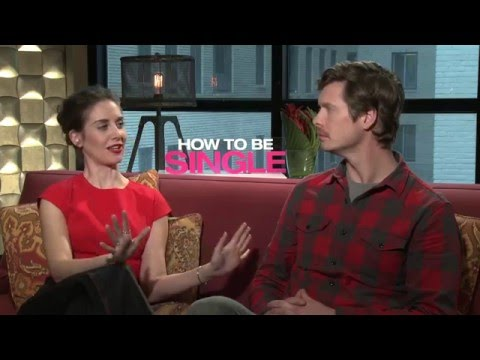 Alison Brie and Anders Holm How to Be Single Interview