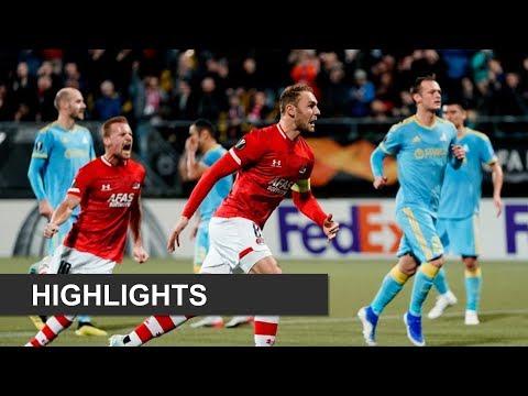 Highlights AZ - FC Astana   Europa League
