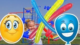 Rocket Balloon Learn Colors Fun Outdoor Preschool Learning Colours Childs Playground
