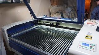 Лазерный станок 1300х900мм 120W Reci [LASERSHOP.ORG]