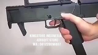 Download lagu Mainan Pistol Plastik Kokang Airsoft Magpul FMG 9 MP3 Lipat MP3