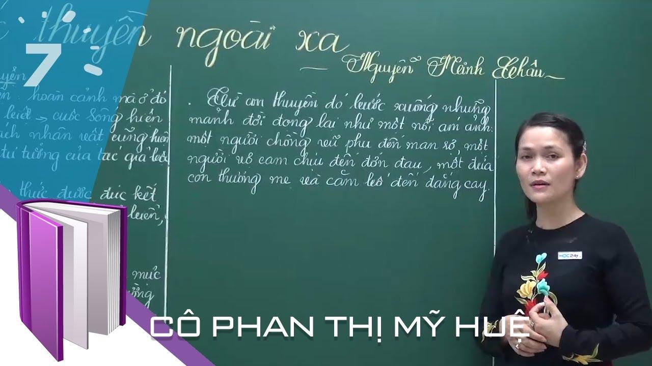 Ngữ văn 12: Chiếc thuyền ngoài xa của Nguyễn Minh Châu | HỌC247