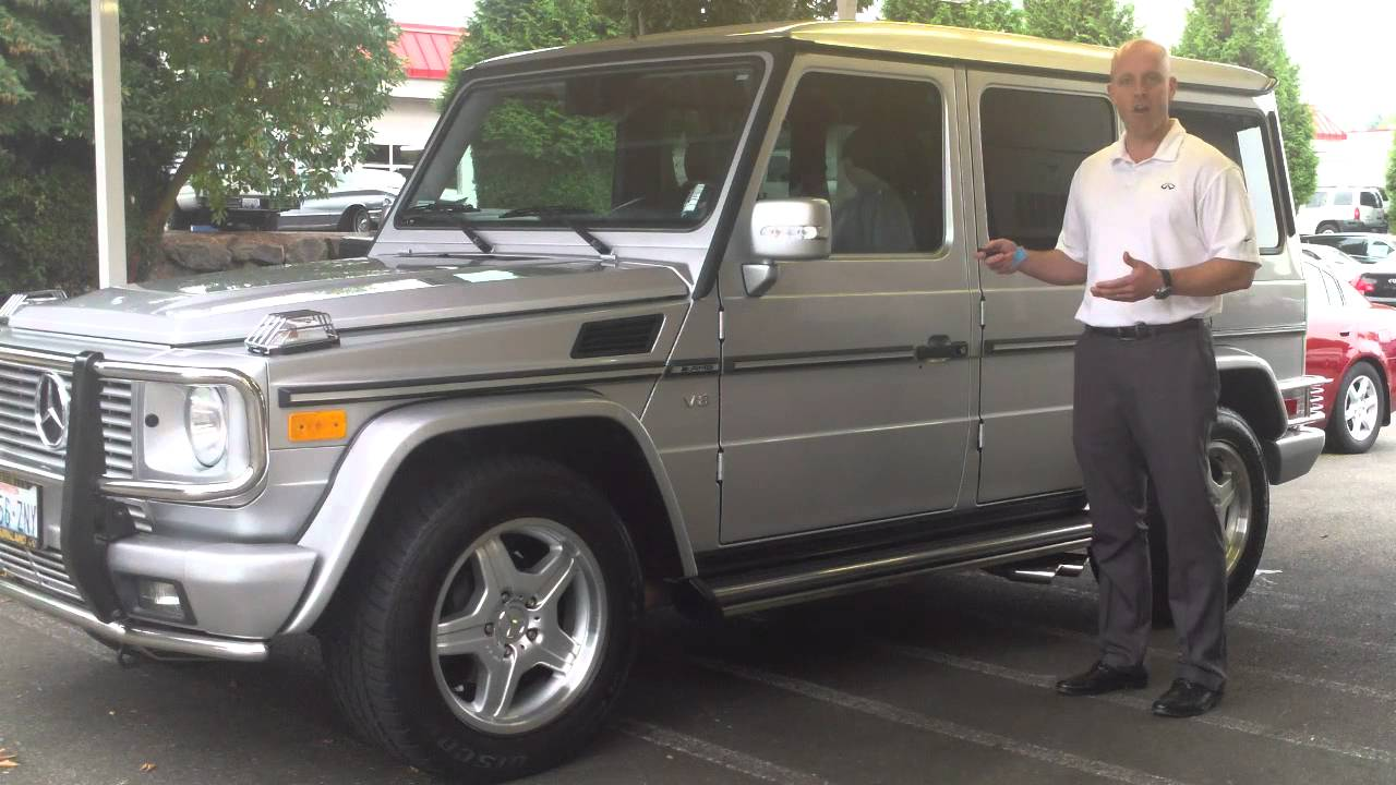 2003 mercedes benz g55 amg review in 3 minutes you ll be an expert on the g55 amg