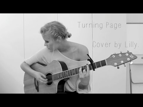 Turning Page - Sleeping At Last (Cover by Lilly Ahlberg)