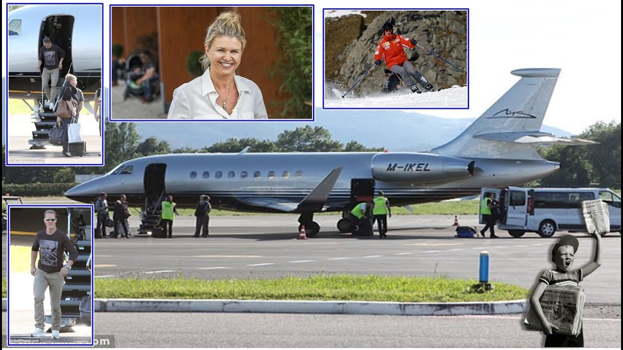 The wife of Michael Schumacher sold his plane 05/12/2015 52