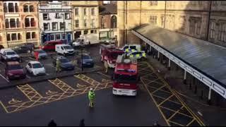 Fire at Shrewsbury Railway Station