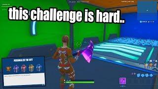 I Found a HARD Fortnite Deathrun.. (RAGE QUIT = GIFT FREE SKINS Challenge)