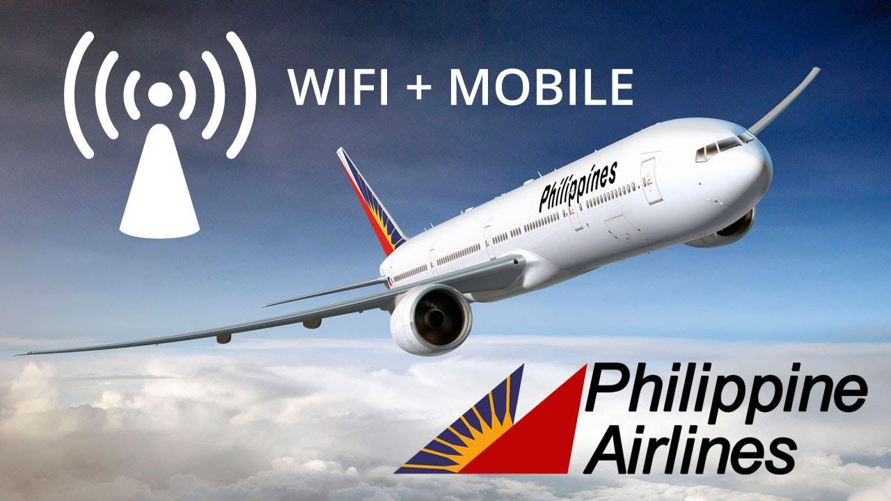 Αποτέλεσμα εικόνας για Philippine Airlines offers Free Wifi inflight