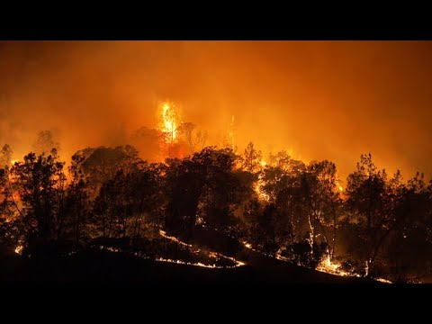 Wind and drought fuel Northern California wildfires