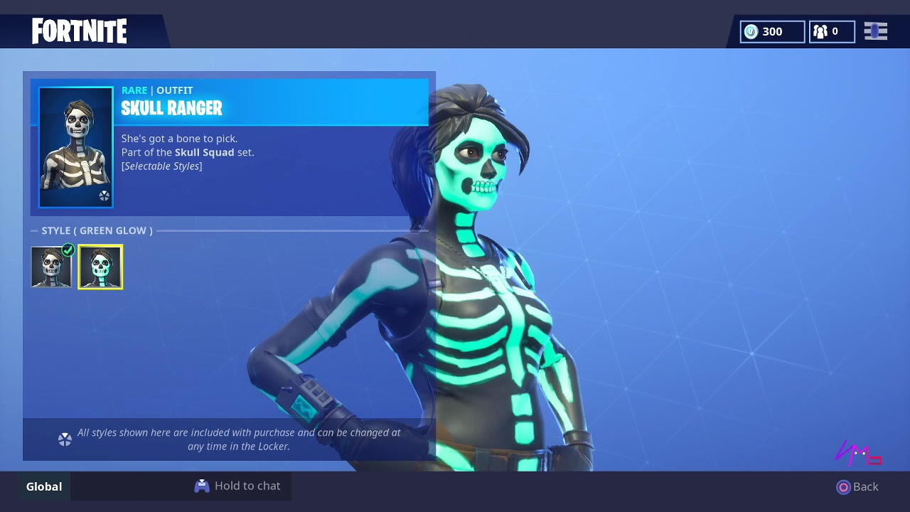 New Skull Trooper Ranger Available Now Item Shop Fortnite Battle