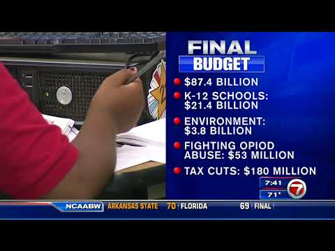 WSVN: Governor Scott Proposes Securing Florida's Future Budget