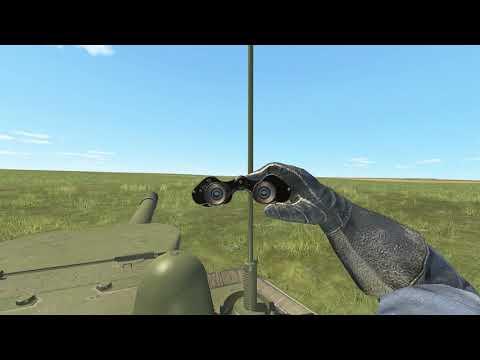 СУ-152 против Тигра (ИИ)   Tank Crew   V.4.006