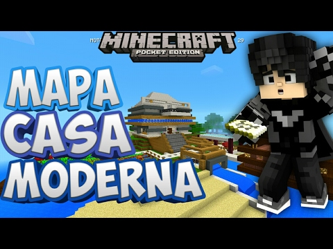 Mapa casa moderna noticia importante mapa para for Casa moderna minecraft 0 12 1