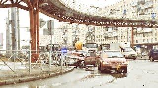 20.03.2019 ДТП на перекрестке пр.Славы и ул.Будапештской