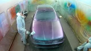 Como aplicar pintura camaleón en tricapa