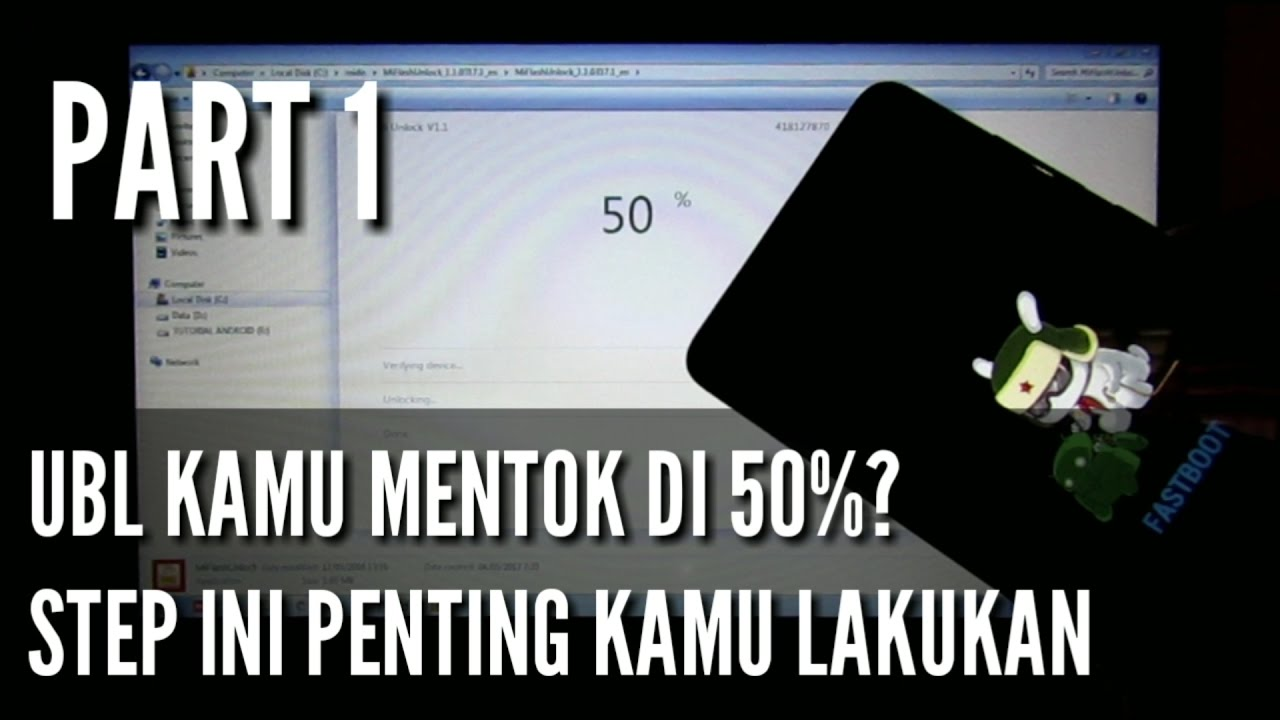 [Part1] UBL|TWRP Anti Bootlop|ROOT Redmi Note 4/X Snapdragon Mido Tested  100% Berhasil by Kiki Mulyana