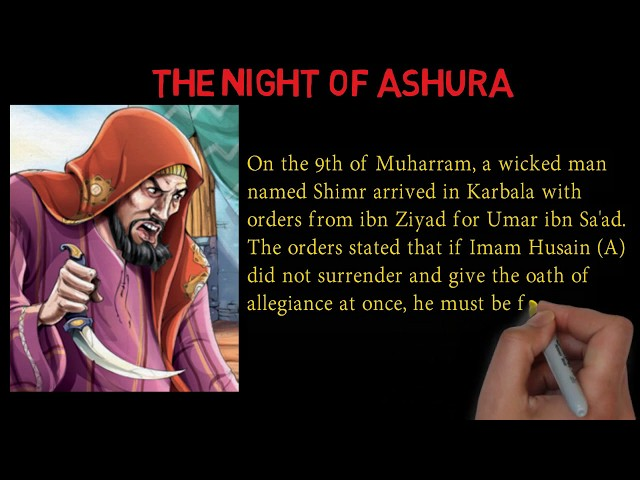 Karbala - The Night of Ashura - Muharram - Part 6