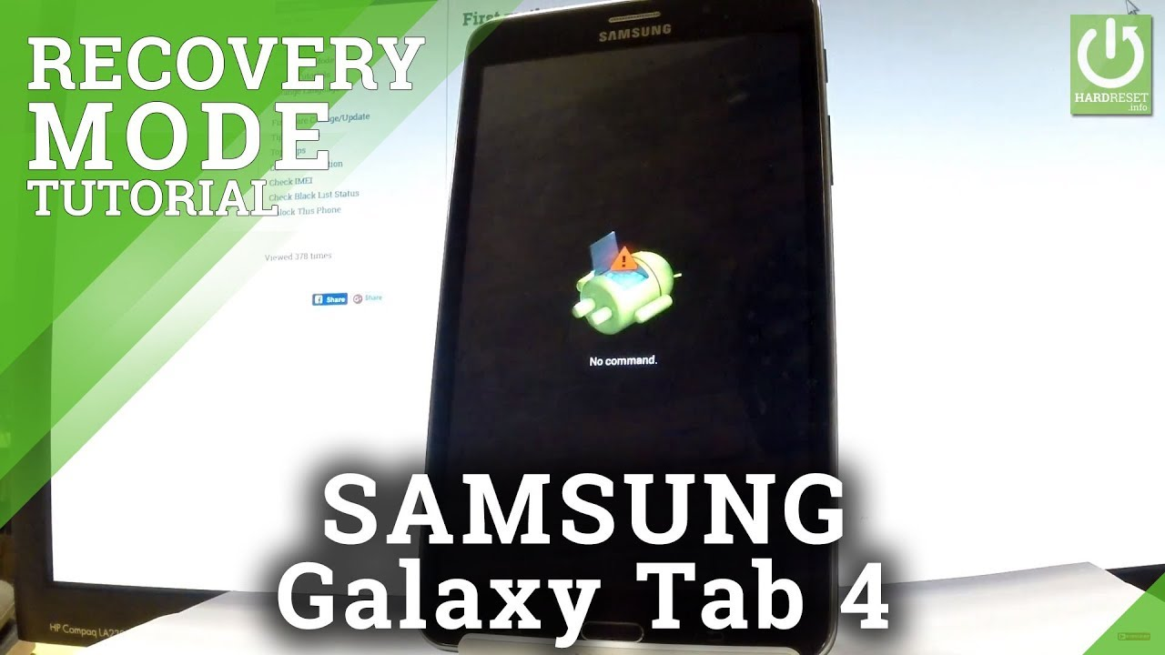 Recovery Mode SAMSUNG T235 Galaxy Tab 4 7 0