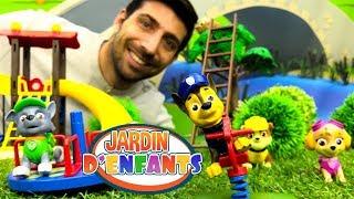 Pat Patrouille dans le Jardin d'enfants №54. Jeux de sable de couleurs pour enfants