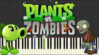 Plants VS Zombies - Brainiac Maniac (Piano)