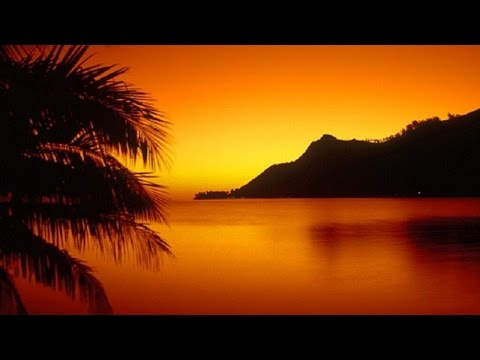 Hawaiian Instrumental Music - Sunset in Hawaii