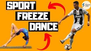 SPORT FREEZE DANCE - PE AT HOME ACTIVITIES - KIDS FUN EXERCISE - PROF RAMON LIMA