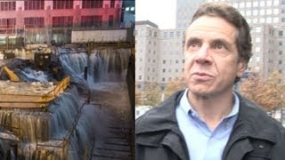 Hurricane Sandy Aftermath: Governor Andrew Cuomo Tours New York City Damage
