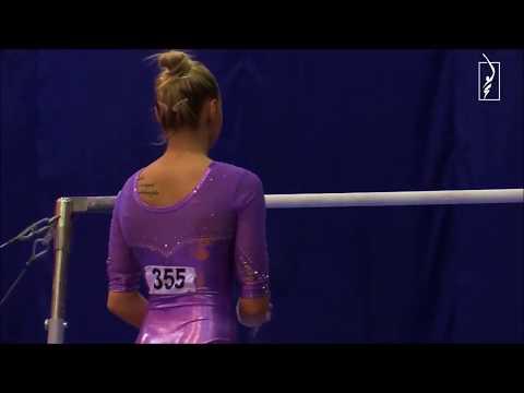 Daria Spidironova (RUS) Uneven Bars 2019 Russian Cup D-Score (2017-20 Code)