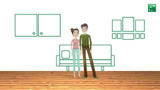 Video-animation in 2D - Versicherung restschuldversicherung AG / BNP | KAPSEL 12