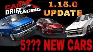 8 NEW CARS!!! CarX Drift Racing 1.15.0 UPDATE!!!